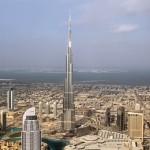 Небоскреб Бурдж-Халифа, самое высокое здание мира